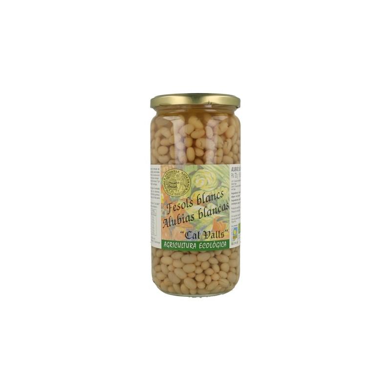 Fésol blanc cuit bio 500 g Cal Valls