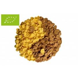 Flocs cruixents de blat de moro i sarracé bio sense sucre