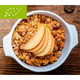 Crunchy poma i canyella bio