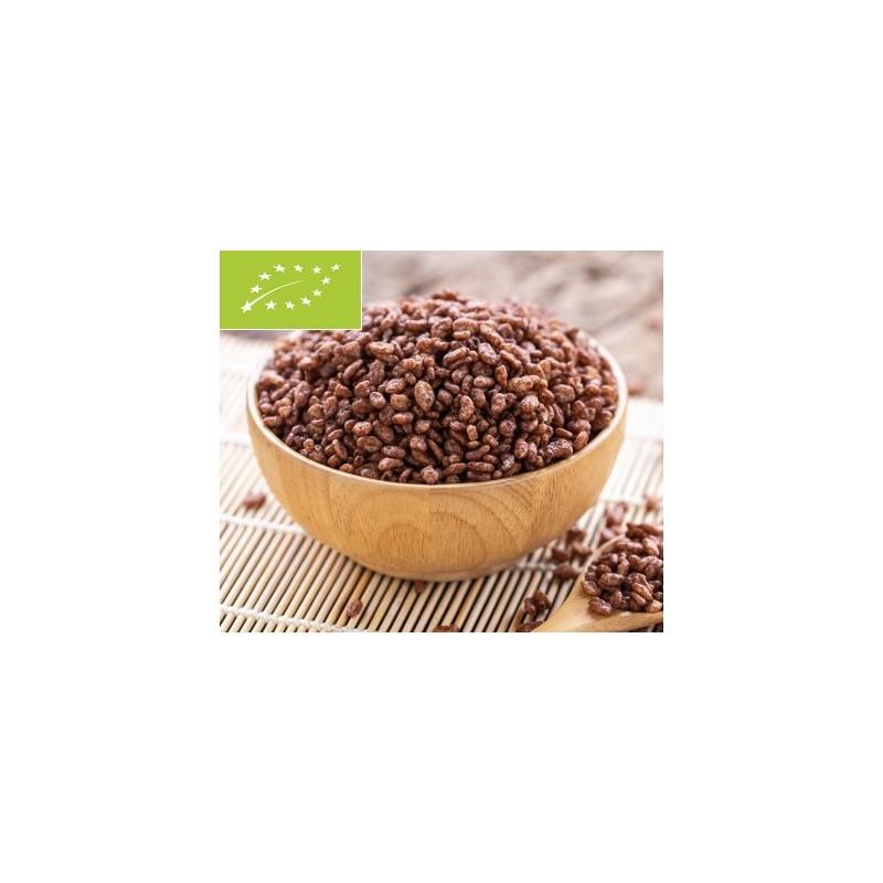 Arròs inflat amb xocolata bio