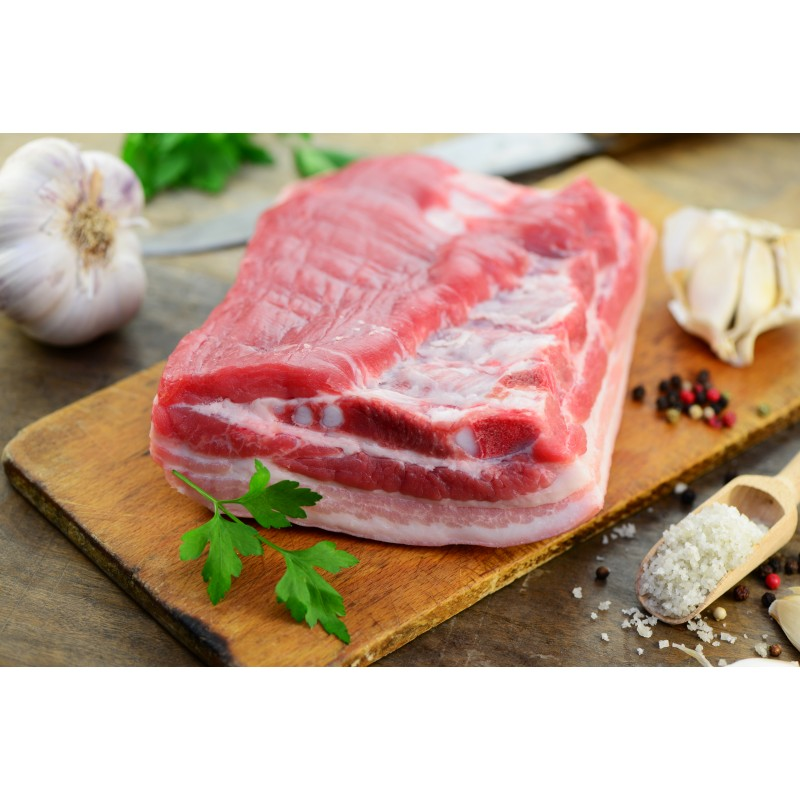 Cansalada viada fresca 250gr. - 6,90€/kg
