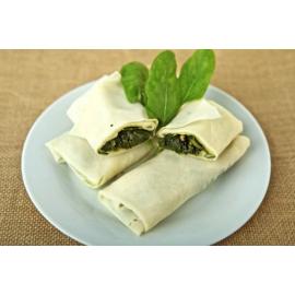 Rotllet d'espinacs, panses i pinyons (safata amb 6 rotllets)