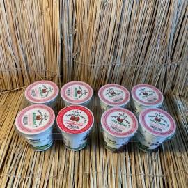 Pack 4 iogurts vaca 125ml amb melmelada maduixa