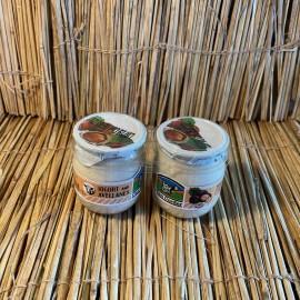 Pack 2 iogurts vaca 125ml vidre natural amb avellana