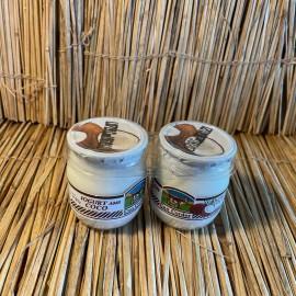 Pack 2 iogurts vaca 125ml vidre natural amb coco