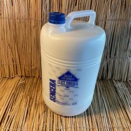 1 garrafa 5L llet fresca sencera vaca