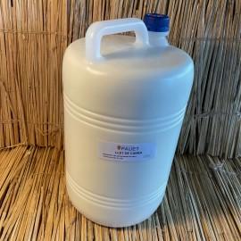 1 garrafa 5L llet fresca sencera cabra
