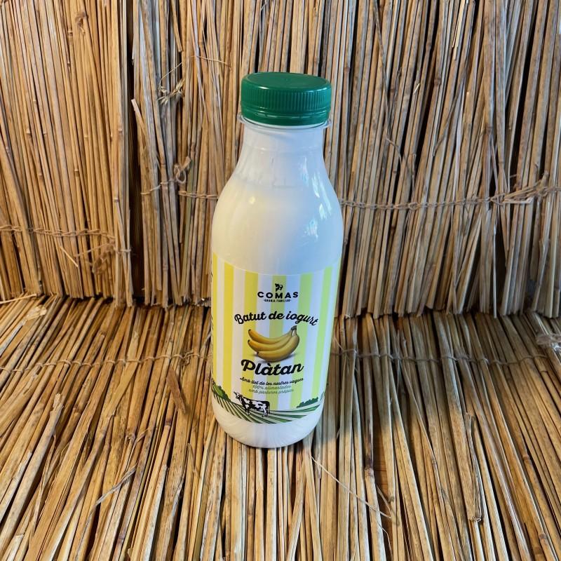 1 batut de iogurt 500ml natural de plàtan