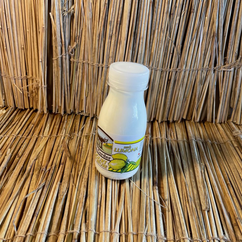 1 batut de iogurt 200ml natural amb llimona