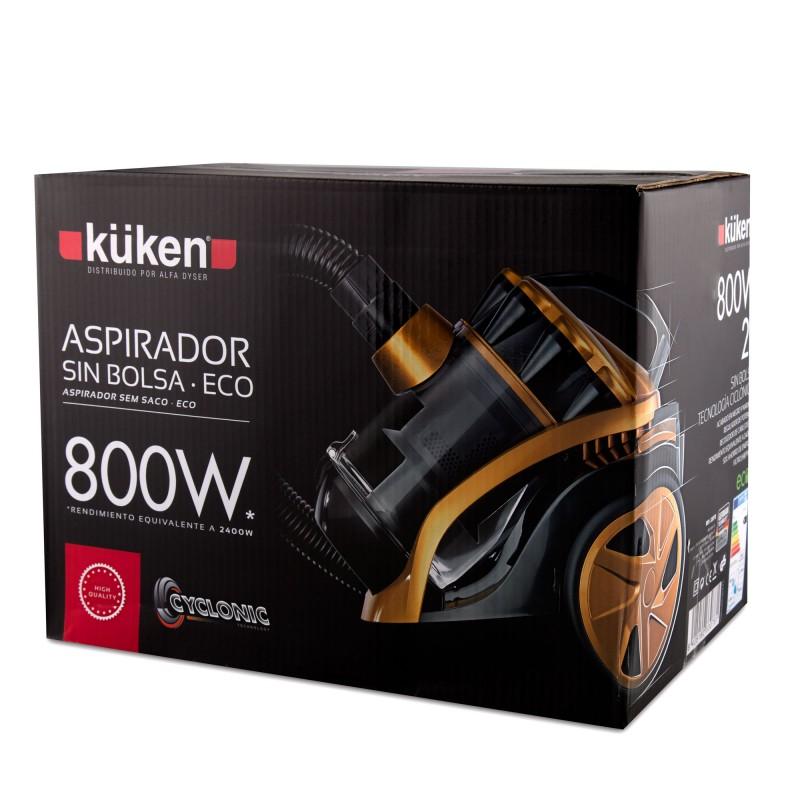 Aspirador ecològic, equivalent a 2400 W Kuken