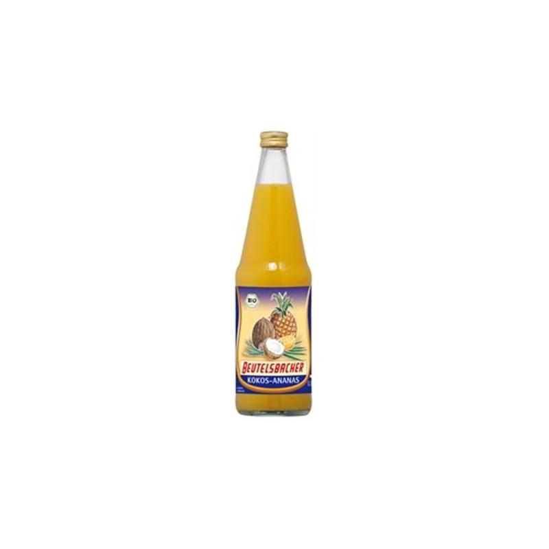 Suc coco i pinya BIO 750 ml