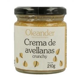 CREMA AVELLANAS TOSTADAS BIO OLEANDER 210 g