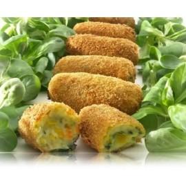 Croquetes veganes de verdures