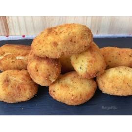 Croquetes veganes d'hummus i espinacs