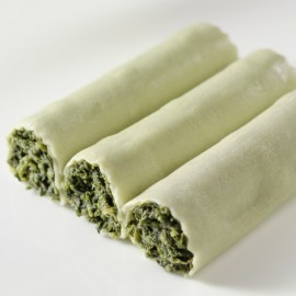 Canelons vegans de verdures (sense beixamel)